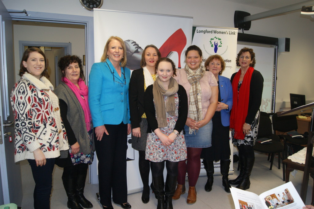 'Voices & Views from 2014 Local Elections' seminar in Longford Women's link 2015