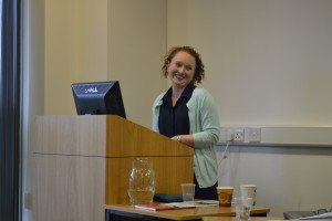 Claire McGing, 5050 Group member and Maynooth University lecturer