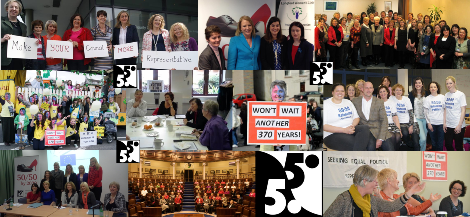 The 5050 Group 'Advocating for equal representation in politics'
